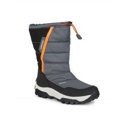 Kids Himalaya Faux Fur-Lined Waterproof Boots