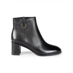 Uptown Leather Booties