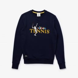 Unisex LIVE Embroidered Tennis Sweatshirt