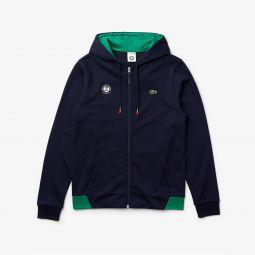 Mens SPORT Roland Garros Hooded Zip-Up Sweatshirt