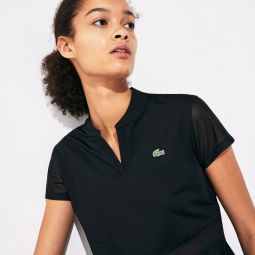 Womens SPORT V-Neck Breathable Tennis Polo