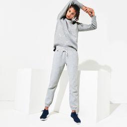Womens SPORT Signature Waistband Fleece Sweatpants