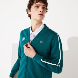 Mens SPORT Roland Garros V-Neck Zip Sweatshirt