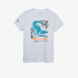 Womens SPORT Miami Open Crocodile Print T-shirt