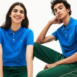Unisex LIVE Slim Fit Stretch Cotton Pique Polo