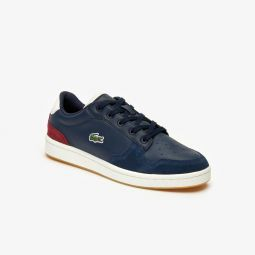 Womens Masters Cup Multicolor Leather and Suede Sneakers