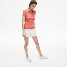 Womens Slim Fit Stretch Polo Shirt