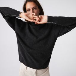 Womens Turtleneck Wool Sweater