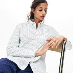 Womens Regular Fit Oxford Cotton Shirt