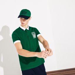 Mens SPORT Roland Garros Plant-Print Cotton Polo Shirt