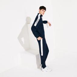 Men's SPORT Stand-up Neck Colorblock Tracksuit