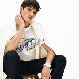 Men's Graphic Print Regular Fit Cotton T-shirt