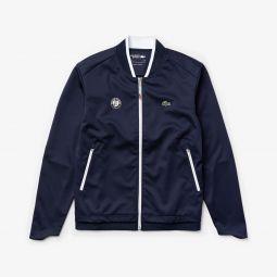 Mens SPORT Roland Garros Pique Zip-Up Jacket
