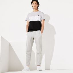 Mens SPORT Fitted Cotton-Blend Sweatpants