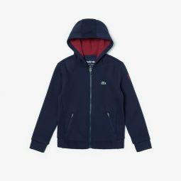 Boys SPORT Novak Djokovic Hooded Fleece Sweatshirt