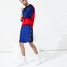 Mens SPORT Logo Two-Tone Shorts