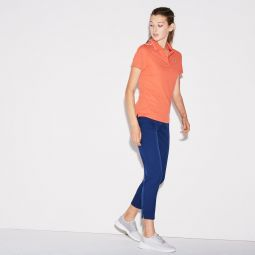 Womens SPORT Golf Pleated Tech Gabardine Pants