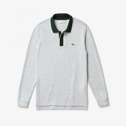 Mens Regular Fit Cotton Pique Polo Shirt