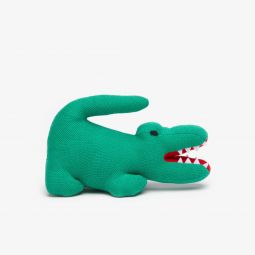 Babies Cotton Pique Plush Crocodile