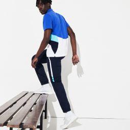 Mens SPORT Lightweight Color-Block Track Pants
