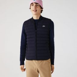 Mens Lightweight Foldable Water-Resistant Puffer Coat