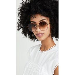 Rosie Scalloped Sunglasses