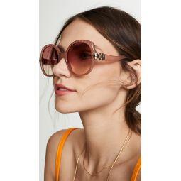 Vera Oversized Square Sunglasses