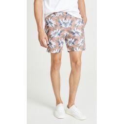 Baxter Hatch Floral Print Shorts