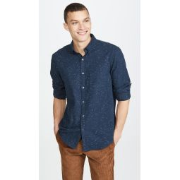 Solid Button Down Shirt