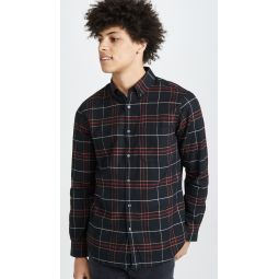 Flannel Check Long Sleeve Shirt