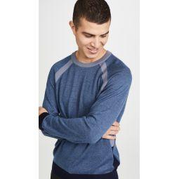 Partial Block Raglan Sweater