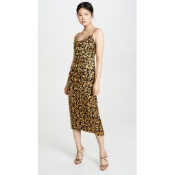 Burnout Slip Dress