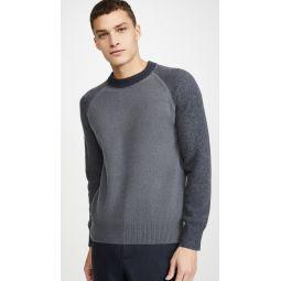 Garment Dyed Crew Neck Sweater
