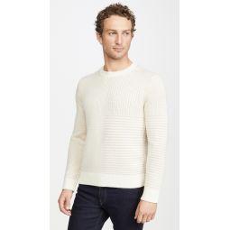 Cashmere Shadow Plaid Sweater
