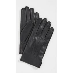 Leather Snap Gloves