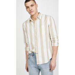 Long Sleeve Double Striped Shirt