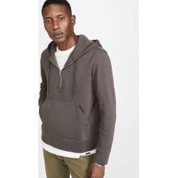 Pullover Quarter Zip Hoodie