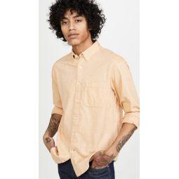 Long Sleeve Button Down Texture Shirt