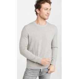 Cashmere Mouline Crew Sweater