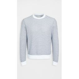 Summer Mesh Crew Sweater