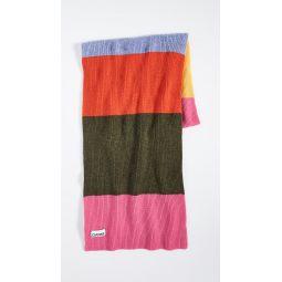 Knit Striped Scarf
