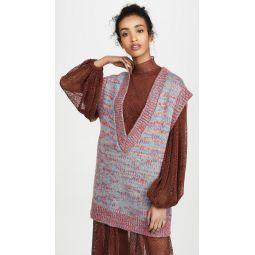 Hand Knit Wool Vest