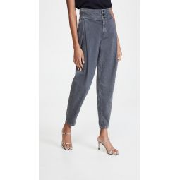 Carey High Rise Tapered Jeans
