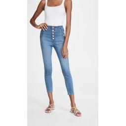 Natasha Sky High Crop Skinny Jeans