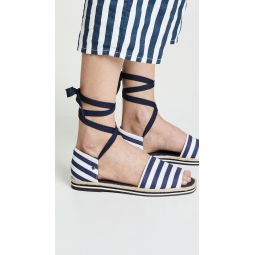 Chandra Lace Up Espadrilles