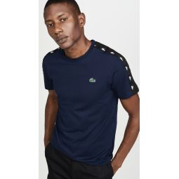 Short Sleeve Lacoste Sport T-Shirt