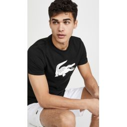 Short Sleeve Lacoste Logo T-Shirt