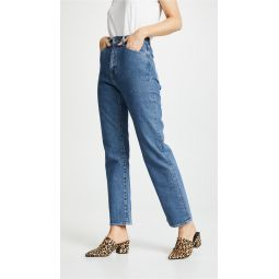 701 Highrise Straight Jeans
