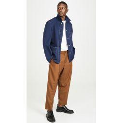 Wool Gabardine Work Jacket