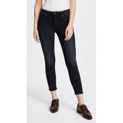 The Cropped Looker Skinny Jeans